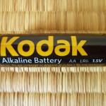 Kodak乾電池外観(単3)