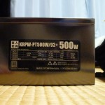 玄人志向 KRPW-PT500W/92+ 本体