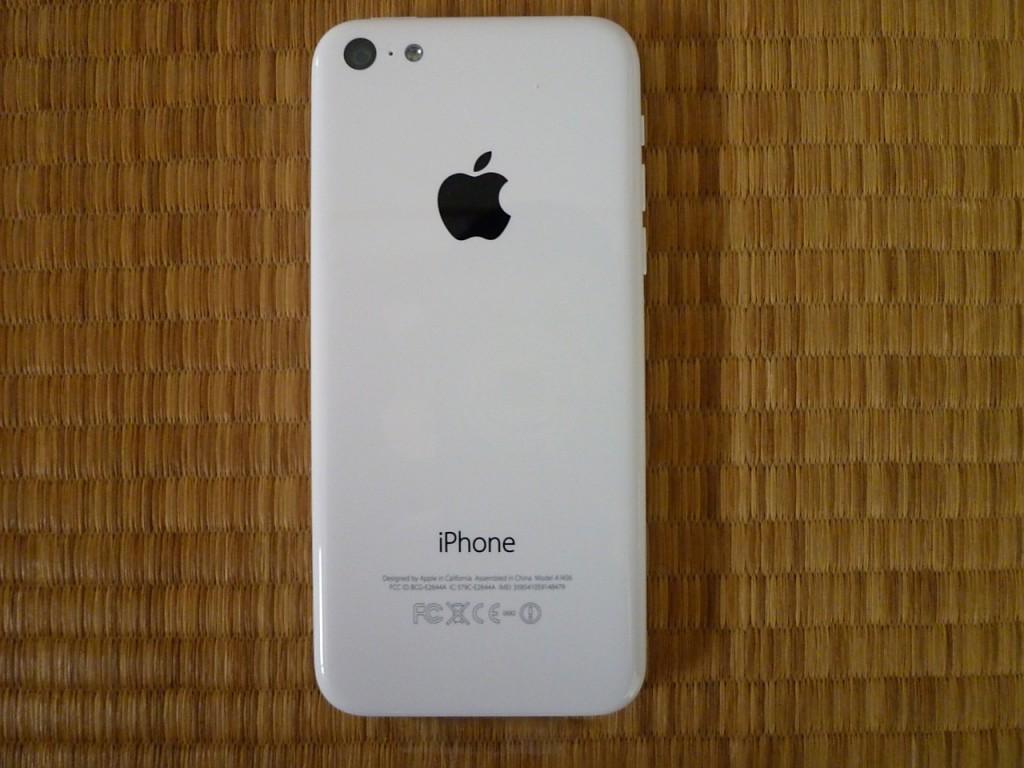 iPhone5C裏面