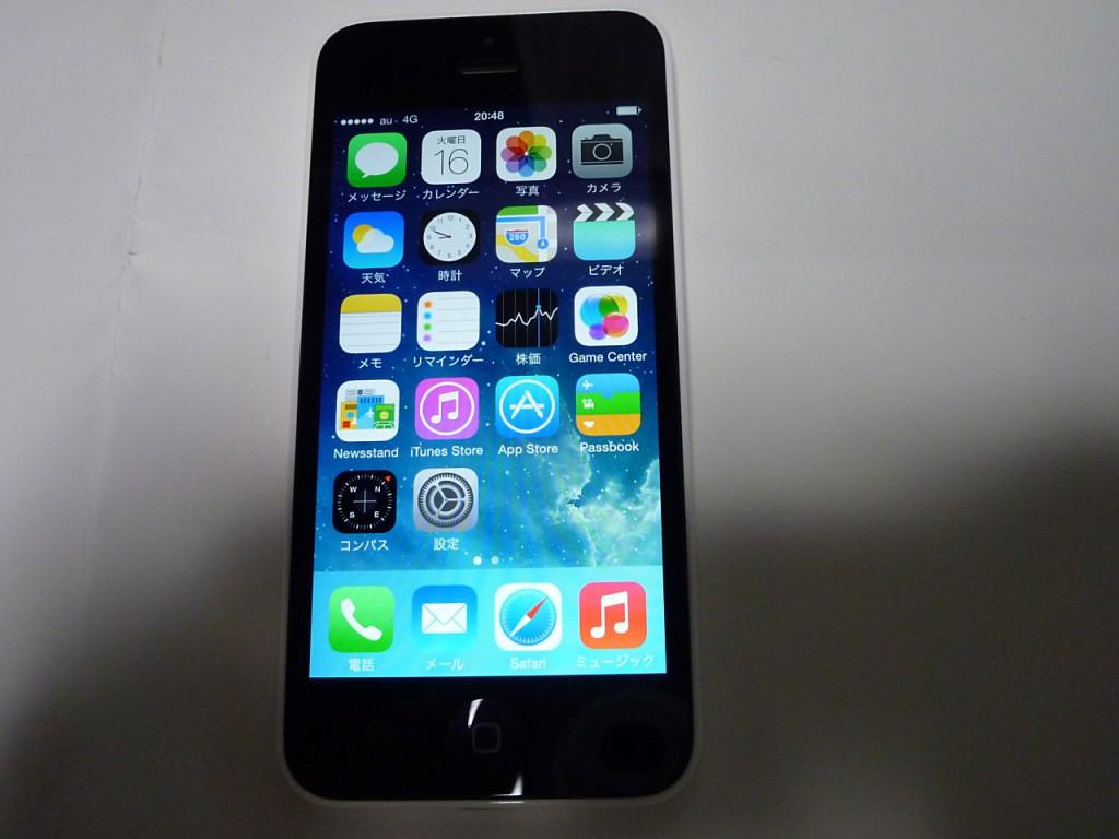 iPhone5C画面