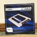 Crucial M550パッケージ